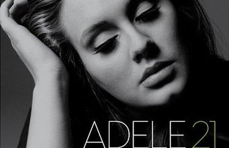 Adele album cover