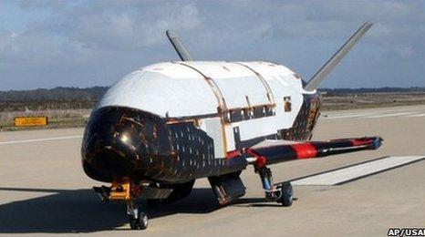 X-37B (AP/USAF)