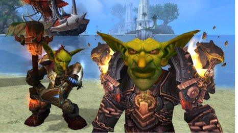 World of Warcraft screen grab