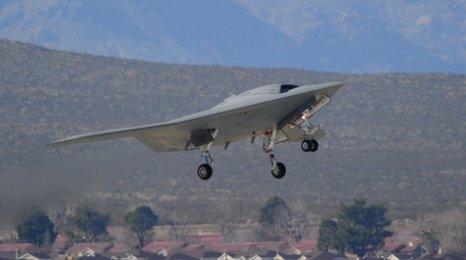X-47B stealth bomber