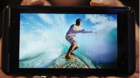 LG's Optimus 3D smartphone