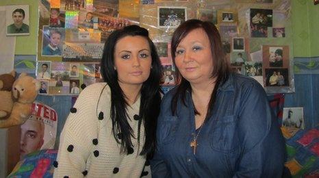 Katie-Jo Shields and Carol Highton