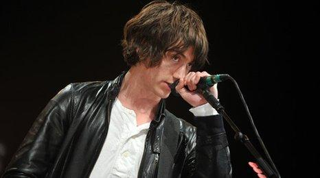 Alex Turner from Arctic Monkeys