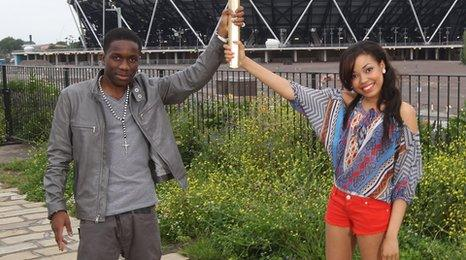 Tinchy Stryder and Dionne Bromfield