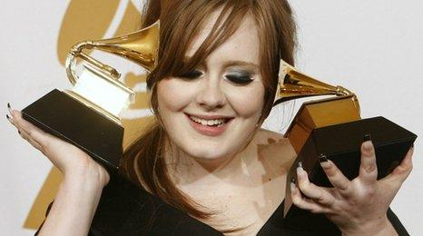 Adele albums top official mid-year music sales chart - BBC