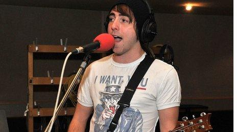 Alex Gaskarth from All Time Low
