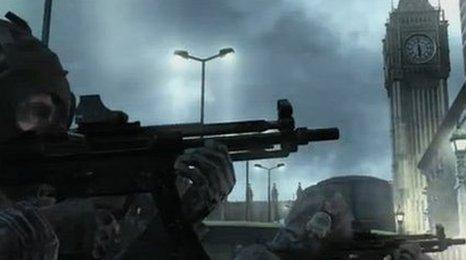 Screen shot of Modern Warfare 3