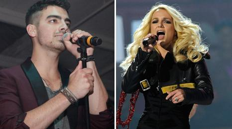 Joe Jonas and Britney Spears