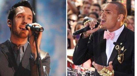 Calvin Harris and Chris Brown