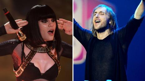Jessie J and David Guetta