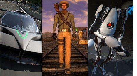 GT5, Fallout, Portal 2