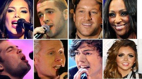 Former X Factor contestants