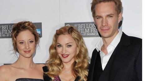 Andrea Riseborough, Madonna and James D'Arcy