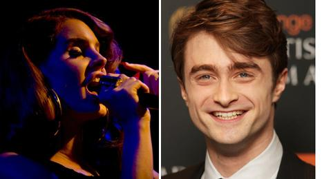 Lana Del Rey and Daniel Radcliffe