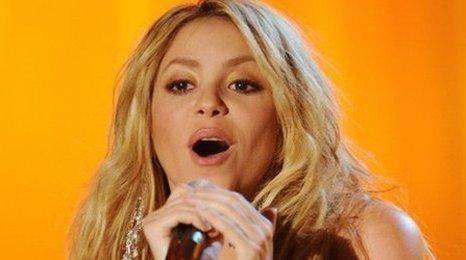 28958b369a Pop star Shakira has described how a sea lion
