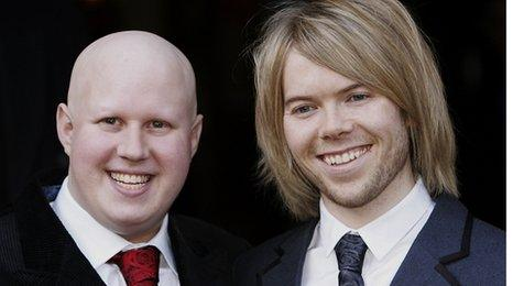 Matt Lucas and Kevin McGee