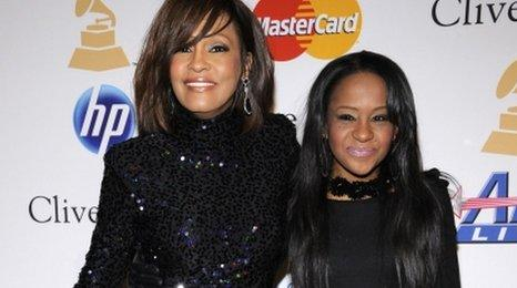 Whitney Houston and Bobbi Kristina