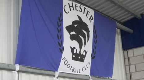 Chester FC's flag