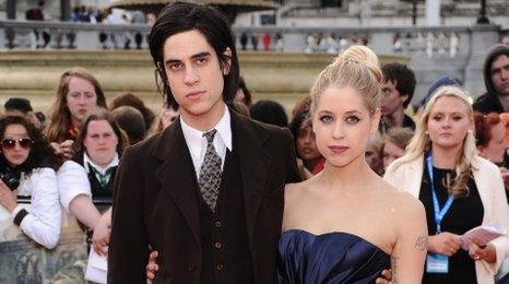 Thomas Cohen and Peaches Geldof