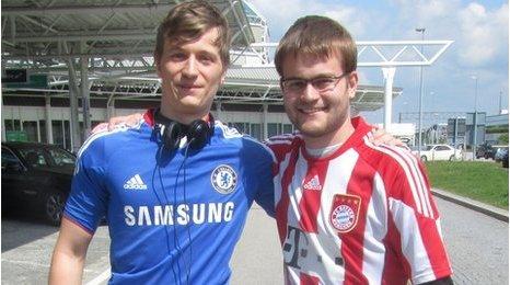 Benedikt and Daniel