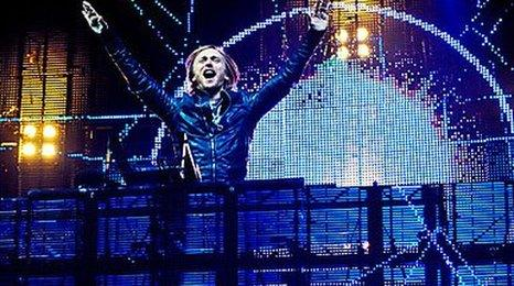 David Guetta at T in the Park