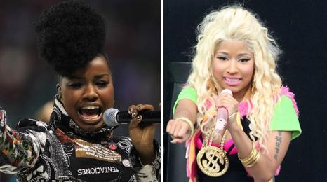 Misha B and Nicki Minaj