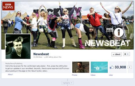 Newsbeat Facebook screengrab
