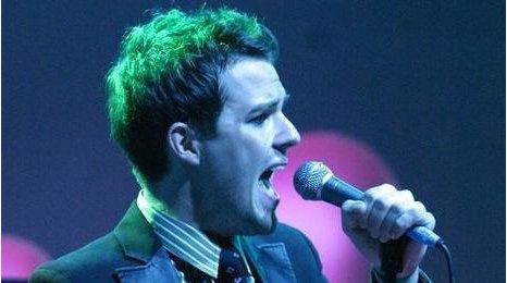 Brandon Flowers from The Killers