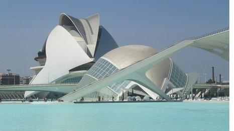 The City of Arts and Sciences (TCAS)