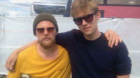 Arnar Rosenkranz Hilmarsson and Arni Gudjonsson