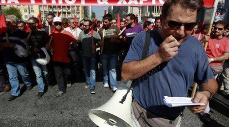 Greek workers stage one-day strike