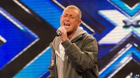 Christopher Maloney is one of the wildcard acts hoping to make the finals of The X Factor