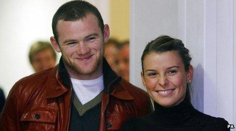 Wayne and Coleen Rooney