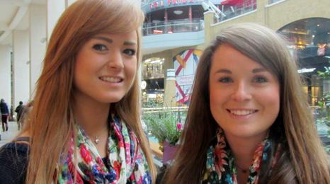 Rachel, 23, and Laura Spence, 21