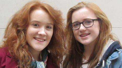 Suzanna Raybine, 23, and Megan Stewart, 19