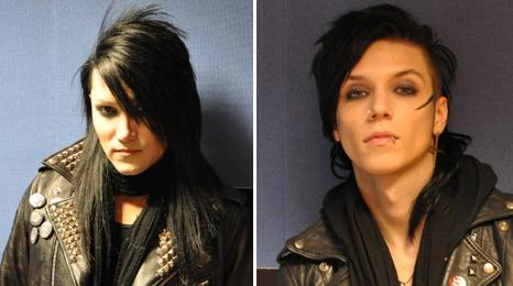 Ashley Purdy and Andy Biersack