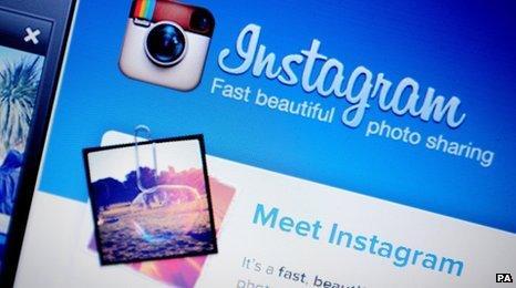 Instagram secreenshot