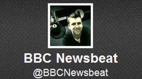 Newsbeat Twitter logo