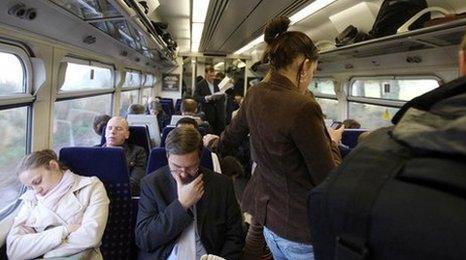 Train at London Kings Cross
