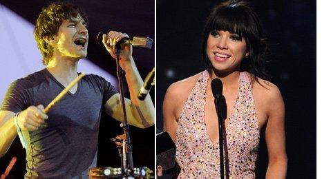 Gotye and Carly Rae Jepsen