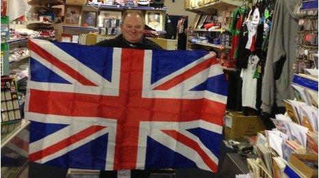 John, flag seller