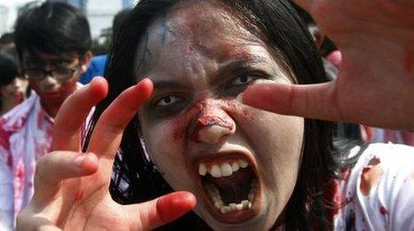 Indonesia's Zombie walk