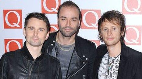 Muse played for just 2,000 people