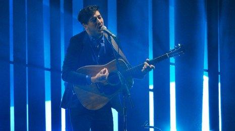 Marcus Mumford from Mumford & Sons