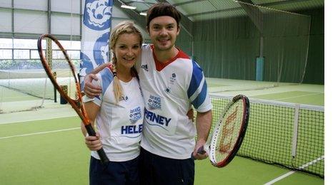 Helen Skelton and Barney Harwood