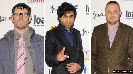 Angelos, Paul Chowdhry and Al Murray