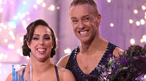 Beth Tweddle and Dan Whiston