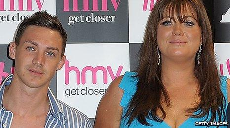 Kirk Norcross and Gemma Collins
