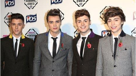 X Factor boy band Union J