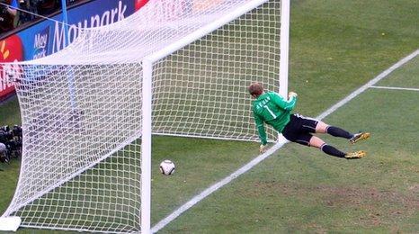 Frank Lampard strike in World Cup 2012